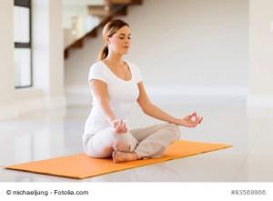 Meditation und Hunger auf Fleisch