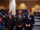 Prof. Sehati, Prof. Samii und Prof. Göbel