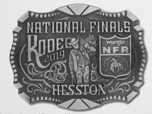 2019 Hesston NFR Belt Buckle