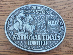 2016 Hesston NFR Belt Buckle