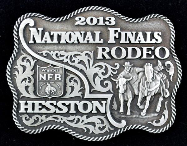 2013 Hesston NFR Belt Buckle