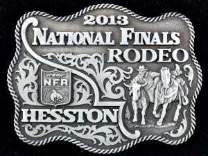 2013 Hesston NFR Belt Buckle