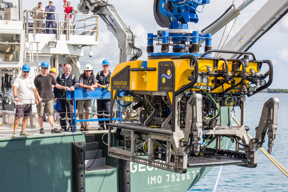 4500 M Remotely Operated Vehicle Rov Schmidt Ocean