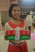 Excited to receive an Operation Christmas Child shoebox!