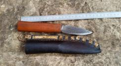 frühmittelalterliches Messer mit passender Scheide