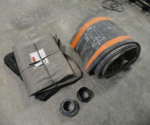 pose de kit filtre à sable drainé avec bâche EPDM