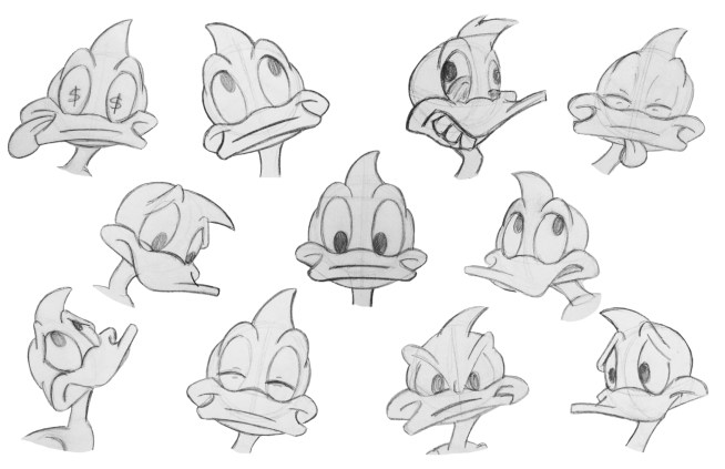 Dippy Duck Expressions