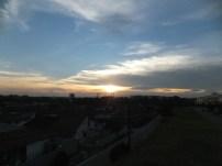 Full view - Sunset at Jalan Ledang, JB, Malaysia