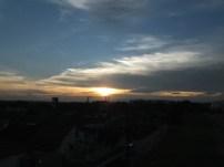 Saying silent goodbye - Sunset at Jalan Ledang, JB, Malaysia
