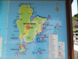 Pulau Redang Map
