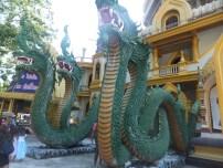 Krabi The Tiger Cave Temple - The Dragon