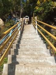 Krabi The Tiger Cave Temple - Steps