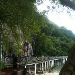 Jetty Bridge at Gua Cerita, Langkawi