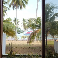 Desaru Damai Beach Resort Room 2 Balcony View Closeup