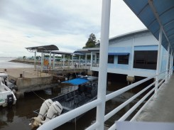 Menumbok Jetty - Boarding Speedboat to Labuan, View on The Right