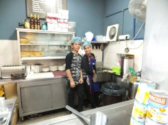 Fook Yuen Cafe Bakery Friendly Drink Stall Staff