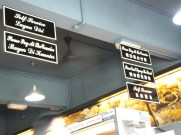 Signboards in Fook Yuen Cafe Bakery