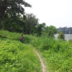 Getting out of Pulau Ubin Ketam Mountain Bike Park Trail