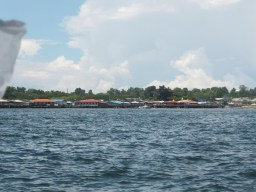 Leaving Labuan Ferry Terminal - Labuan to Sipitang Speedboat