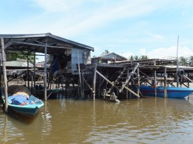Labuan to Sipitang Speedboat - Small Sipitang Ferry Terminal