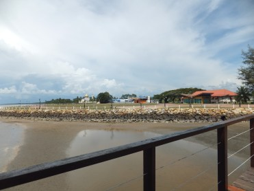 View of Esplanad Sipitang from Jetty Shelter