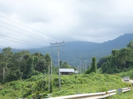 Sipitang to Tenom via Beaufort Route - Mountain View