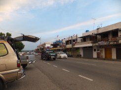 Keningau-KK Station with Pizza Hut View