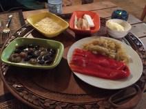 Seaview Faralya Butik Otel Restaurant Dinner Appetizer