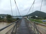 Tamparuli Suspension Bridge for pedestrian