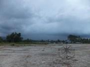 Backview from Kinarut Beach