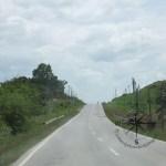 Road to Kinabatangan from Sepilok