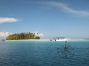 Reaching Sibuan Island, Semporna Island Hopping