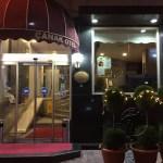 Explore Canakkale, Turkey-Canak Hotel Entrance