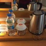 Explore Canakkale, Turkey-Canak Hotel Suite Room with Kettle and Free Bottled Water