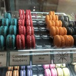 Macarons.sg choices of eye-catching coloured and various flavours close-up
