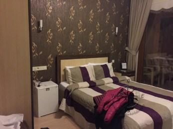 Yenifoca, Turkey – Villa Fokai Hotel Standard Double Room Nightview