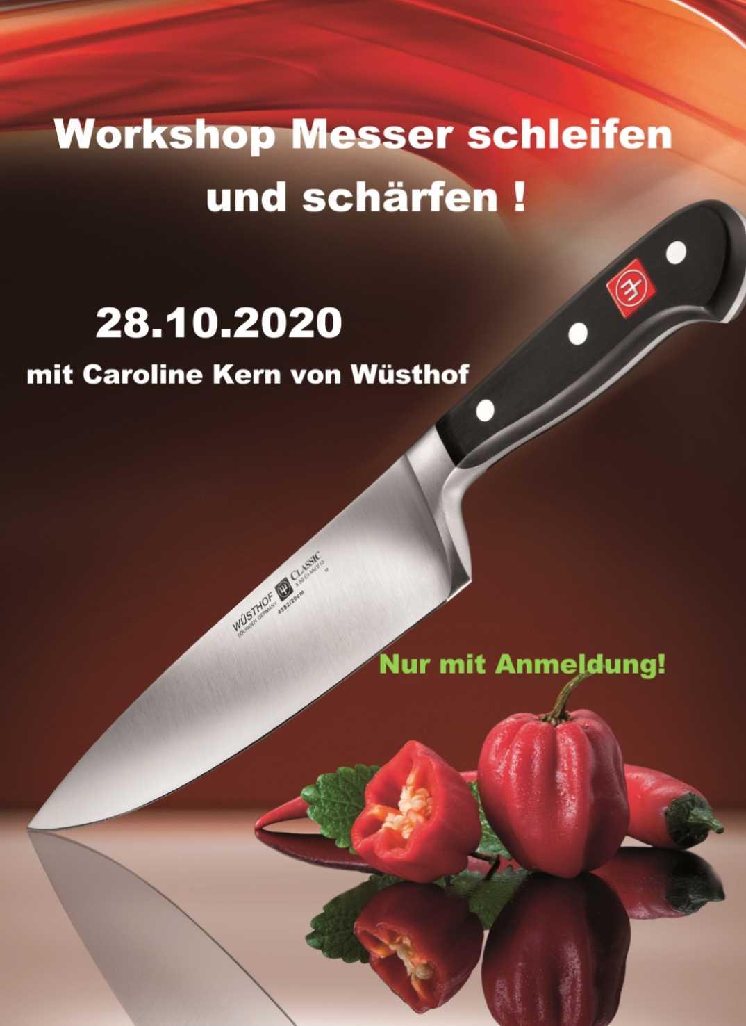 Workshop: Messer schleifen