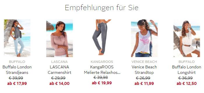 Mode Ausverkauf bei OTTO
