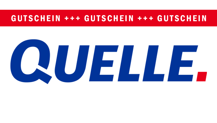 QUELLE Gutscheine September 2017