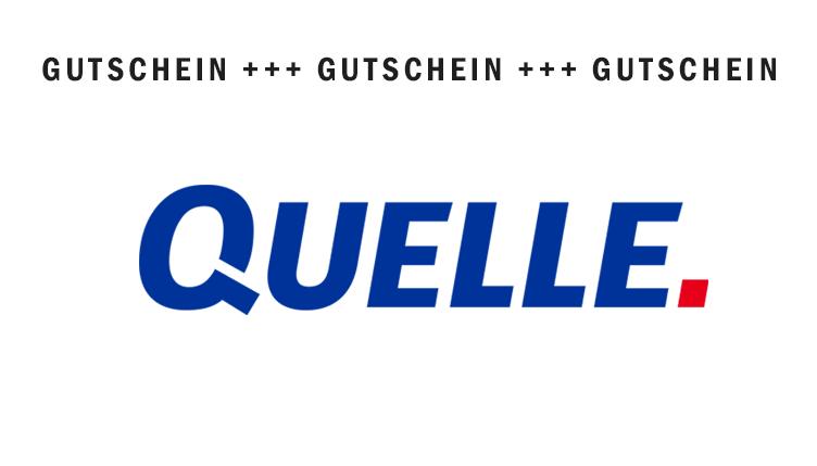 QUELLE Gutscheine – Januar 2018