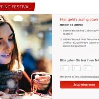 OTTO Shopping Festival Gewinnspiel