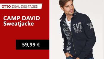 OTTO Deal des Tages CAMP DAVID Sweatjacke