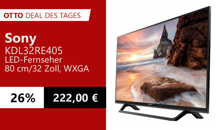 OTTO Deal des Tages Sony LED Fernseher