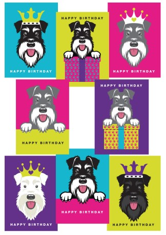 mixed pack of birthday cards