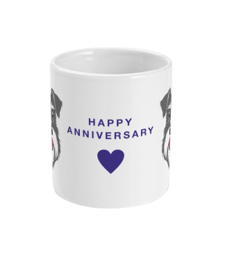 happy anniversary mug salt pepper schnauzer centre view