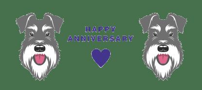 happy anniversary mug salt pepper schnauzer full graphic