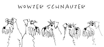 t-shirt unisex white wowzer sketch