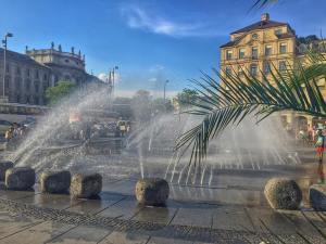Brunnen am Münchner Karlsplatz (Stachus)