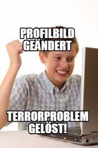 Meme zur Profilbildänderung