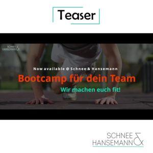 Teaser-Bootcamp